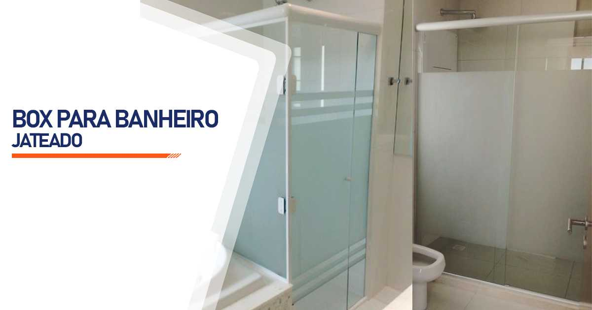 Box Jateado para Banheiro