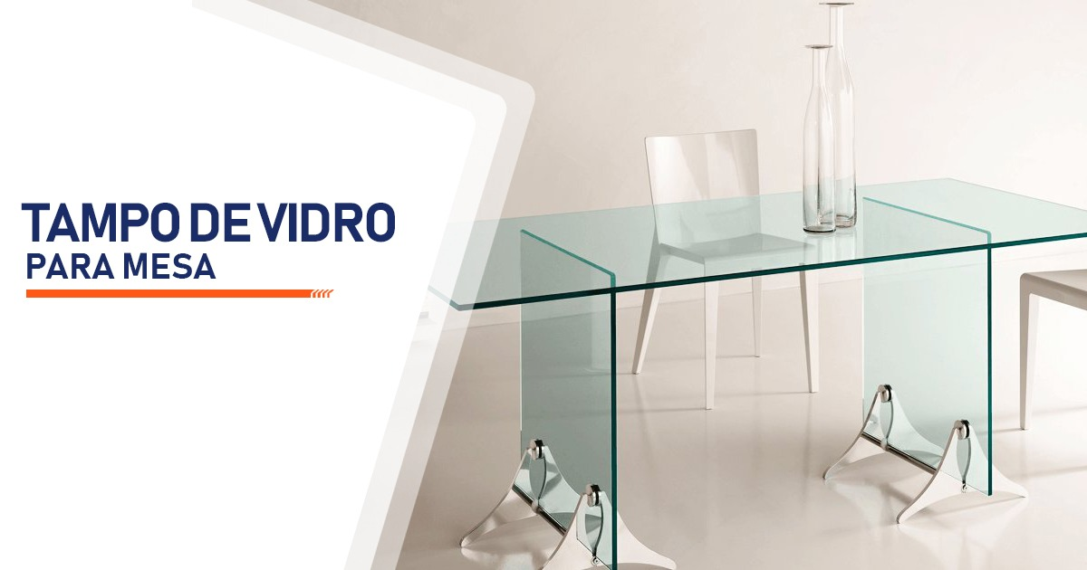 Tampo de Vidro Para Mesa