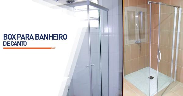 Box de Canto para Banheiro   SP Zona Sul Jardim Ellus