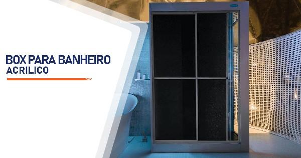 Box para Banheiro Acrílico SP Zona Sul Alto da Boa Vista
