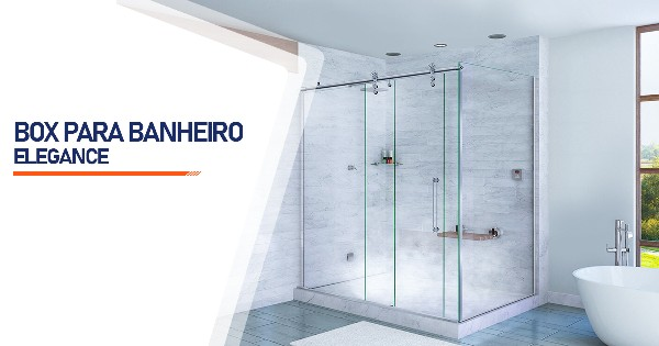 Box para Banheiro Elegance  SP Zona Sul Alto da Boa Vista