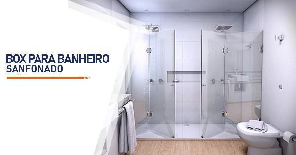Box para Banheiro Sanfonado SP Zona Sul