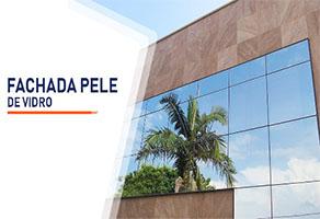 Fachada Pele de Vidro  SP Zona Sul Jardim Ellus