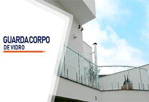 Guarda Corpo de Vidro  SP Zona Sul Jardim Ellus