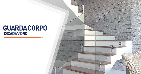 Guarda Corpo Escada Vidro   SP Zona Sul Jardim Ellus