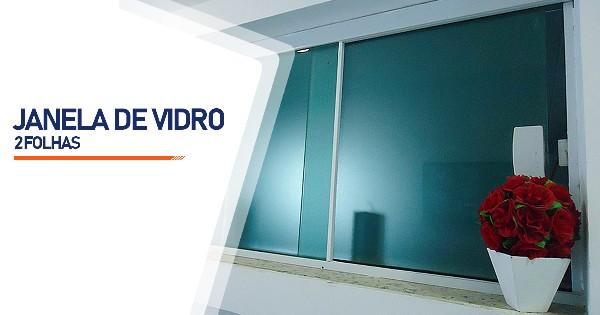 Janela De Vidro 2 Folhas  SP Zona Sul Jardim Ellus