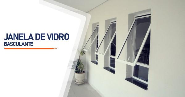 Janela De Vidro Basculante  SP Zona Sul Jardim Ellus