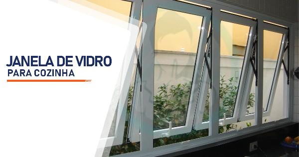 Janela de Vidro para Cozinha  SP Zona Sul Jardim Ellus