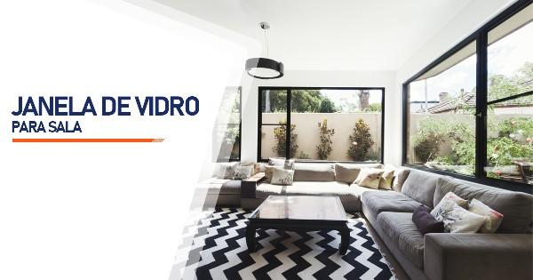 Janela De Vidro Para Sala  SP Zona Sul Jardim Ellus