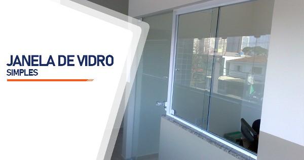 Janela De Vidro Simples SP Zona Sul