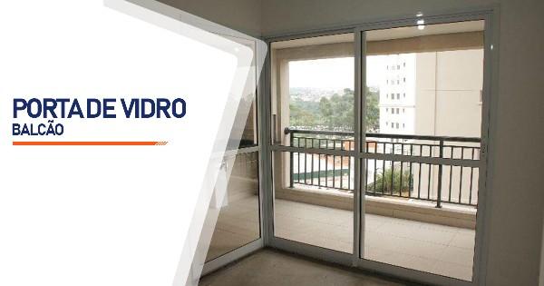 Porta Balcão De Vidro  SP Zona Sul Jardim Ellus