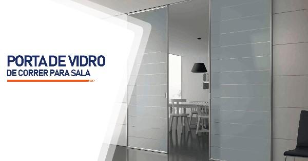 Porta De Vidro De Correr Para Sala SP Zona Sul