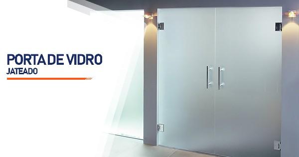 Porta De Vidro Jateado SP Zona Sul
