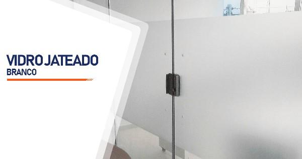 Vidro Jateado Branco  SP Zona Sul Jardim Ellus
